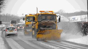 Donegal gears up for the winter gritting season