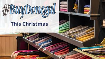 December campaign to encourage consumers to Buy Donegal and Shop Local