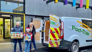 Donegal firm in major Christmas Toy Appeal in the UK