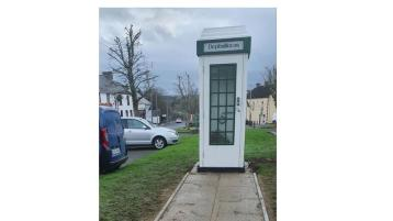 The Donegal village phone box that will save local lives