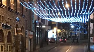 The Christmas lights haven't gone out in Ballyshannon and other Donegal towns