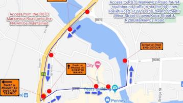 N4 roadworks coming into Sligo Town will impact travel from south Donegal