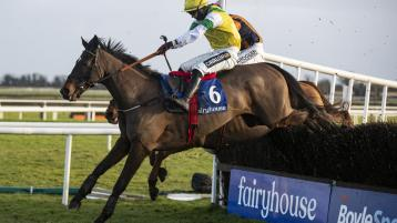 Orr back in the winners' enclosure as he boots home Enjoy D'Allen at Fairyhouse on Sunday