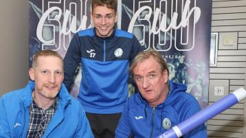 Horgan and Harps getting ready to begin training as 500 Club launched