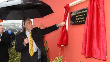 Sad passing of Irish athletics legend who officially opened Danny McDaid track in Donegal