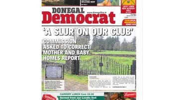 Get your copy of this week's Donegal Democrat
