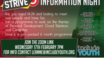 Information night for youths in Donegal border town
