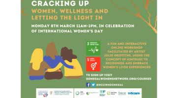 "Donegal women will be  ""Cracking Up"" for this creative arts online workshop"