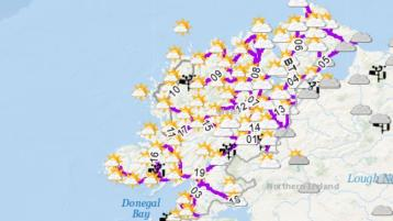 Donegal roads will be gritted tonight