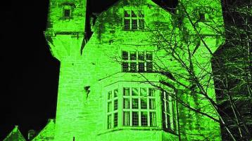 One Donegal landmark selected by the Office of Public Works to go green for St. Patrick's Day