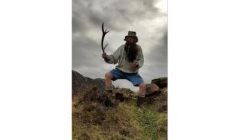 Hermit comes down from the hills of Donegal for his Covid jab