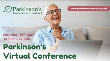 Parkinson's Association of Ireland online conference on Saturday