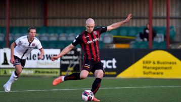 Donegal striker bags the winner as Bohs beat winless Dundalk at Oriel Park