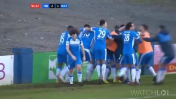WATCH: See the Finn Harps winner that makes them joint top - and ten points clear of Derry City