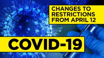 EXPLAINER: What are the changes to Covid restrictions from April 12