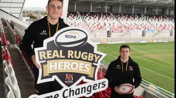 SONI and Ulster Rugby issue final call for Donegal Clubs to nominate 'Real Rugby Heroes - Game Changers'