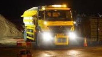 Gritters will be out on Wednesday morning