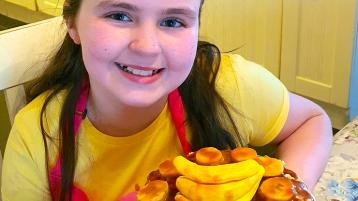 Letterkenny pupil's 'sweet' banana dessert recipe success