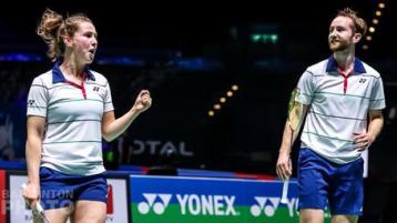 Magees through to last 16 at 2021 European Badminton Championships in Kyiv, Ukraine