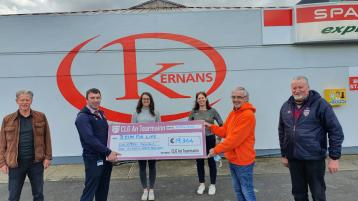 Termon Bingo in aid of Relay for Life Cancer charity raises in excess of €19,000