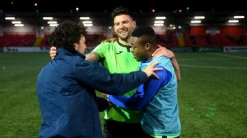 Watch: Highlights of Finn Harps' history-making first ever win over Derry City at the Brandywell