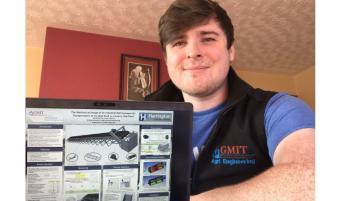 Donegal student wins best award at GMIT Expo
