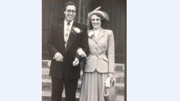 70 years on . . . . love is in the air in Glenties