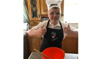Donegal boy's charity cakes a real treat!