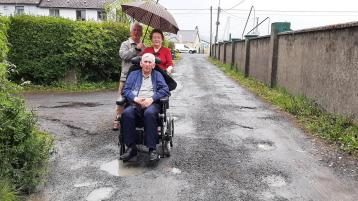 Pensioners feel 'trapped' in their homes because of pothole problems