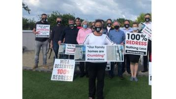 100% redress for Donegal's mica affected families is the only just solution - SF leader