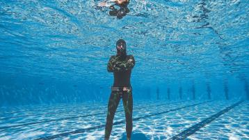 Breathtaking stuff in the pool - Donegal freediver sets new records in Egypt