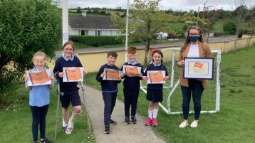 Proud day for east Donegal national school