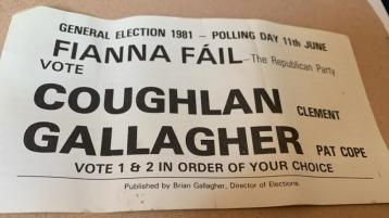 Cope celebrates 40th anniversary of first election to Dáil Éireann