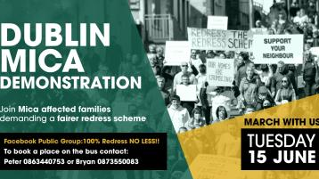 SIPTU calls for 100% compensation for mica homeowners in advance of protest