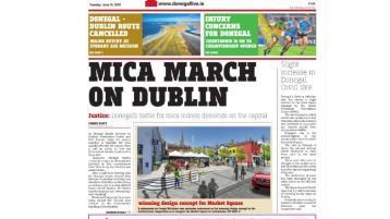 Mica march on Dublin