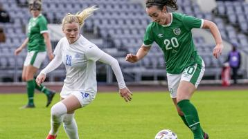 McLaughlin comes on as late sub as Ireland women lose to Iceland