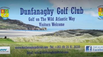 Young guns score with pair of aces at Dunfanaghy Golf Club