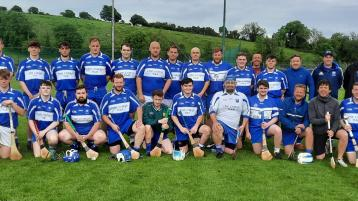Four Masters hurlers