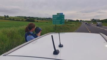 Extra garda presence on Donegal roads this weekend as roads unit tackles speeding