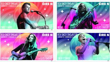 New Irish stamps celebrate Christy Moore, Lisa Hannigan, Hozier and Sinéad O'Connor
