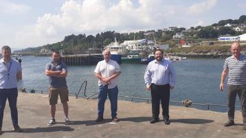 Sinn Féin meet with local fisherman and hear their concerns