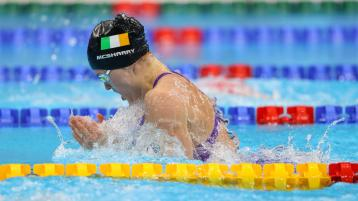 Fantastic achievement by Mona McSharry as she reaches Olympic 100m breaststroke final