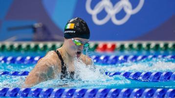 Mona McSharry lowers Irish 200m breaststroke record at Tokyo Olympics