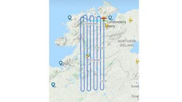 Unusual plane activity over Donegal prompts major concerns