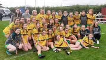 Delight for Donegal U-16 ladies with Ulster Silver final success