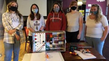Inishowen women breaking the circuit through Skills Connect