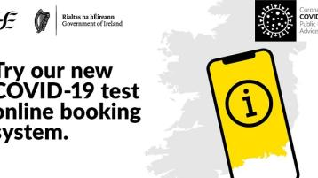 HSE advise use of self-referral portal for testing in Donegal