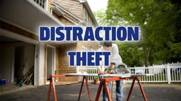 A Donegal warns of the dangers of distraction theft and urges people to take all necessary precautions