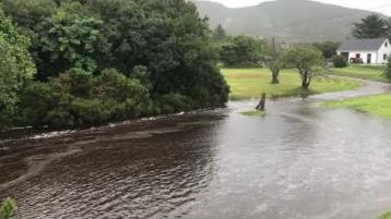 Crolly, Corveen and areas across west Donegal severely hit by floods