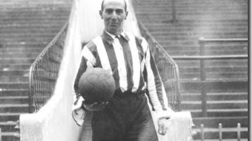 Watch: Famous Sheffield United star from Donegal who was one of the greats
